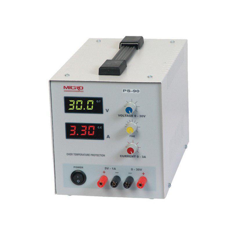 منبع تغذیه متغیرMICRO 3A 0-30V